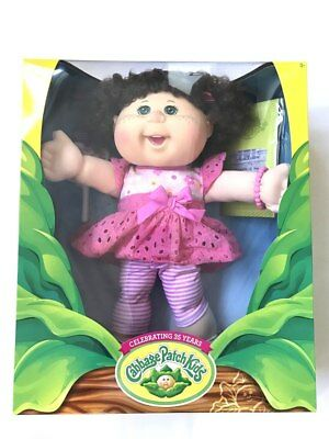 Cabbage Patch Sweet Interaction Doll Green Eyes - 35cm