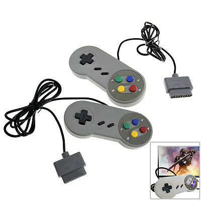 SNES Super Nintendo Controller Gamepad Joypad For PC Windows Android IOS Linux