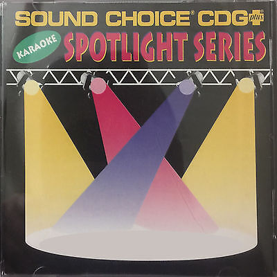 Various USED Sound Choice Spotlight Series Karaoke CDG ($45 Each) Out Of Print