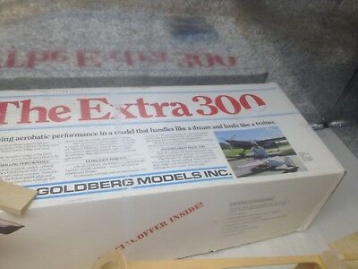 "Parts for Carl Goldberg Models The Extra 300 Kit # 55 RC Airplane 68"" wing span"