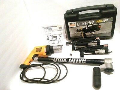 Simpson QDPro200G2 & QDPro250G2 Attachment, Screwdriver Motor For Drywall
