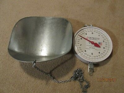 Detecto Cardinal MCS Series Hanging Produce Scale with Basket & Chains