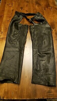 Harley davidson leather chaps