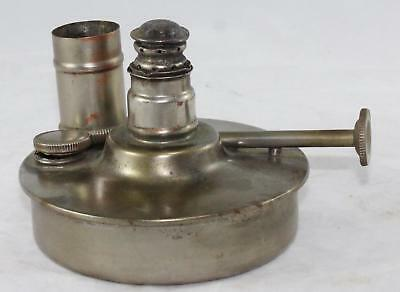 Alcohol Burner-Pat Dates, Mar 20 & July 17-1906-Flame Adjustable & Cap