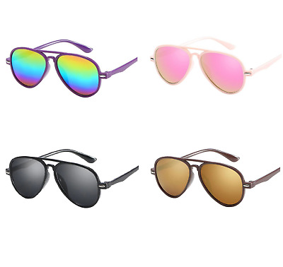 Funky aviator style sunglasses for babies, toddler, kids
