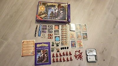 HeroQuest Wizards of Morcar expansion FULL SET boxed, Hero Quest [ENG, 1992] R10