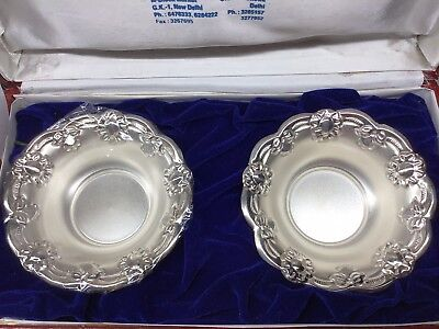 Sterling Silver Gift Bowl Set Marked