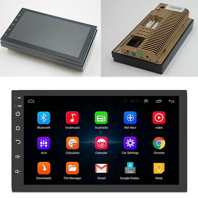 """7"""" Universal Car Android 8.0 Double Din Touch Pad 4-Core Stereo Radio GPS Wifi"""