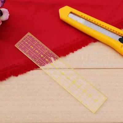 Multi-function Handmade Quilting Sewing Ruler Patchwork Drawing Measuring Rulers