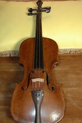 Antique vintage HOPF Violin.