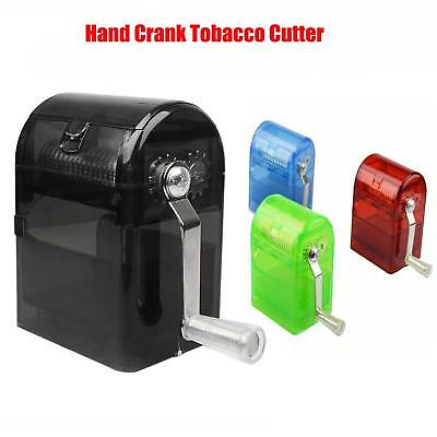 4 Color Herb Grinder Tobacco Cutter Hand Muller Shredder w/ Tobacco Storage Case