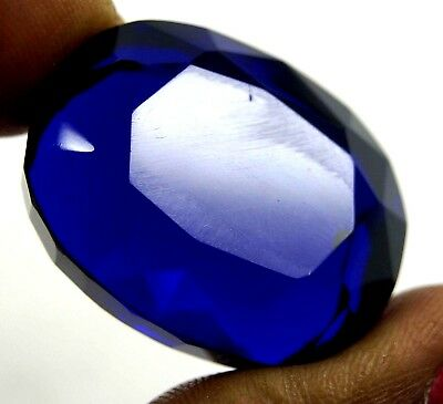 GGL Certified 73.80 Ct Carving Oval Shape Glowing Blue Topaz New Offer Gemstone