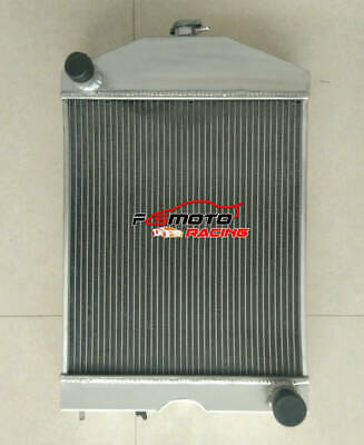 56mm for Ford 2N / 8N / 9N tractor w/flathead V8 engine aluminum radiator Manual