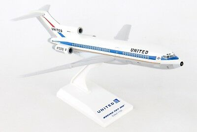 Skymarks Model United Airlines 727-100 N7001U Museum of Flight 1/150 Scale with
