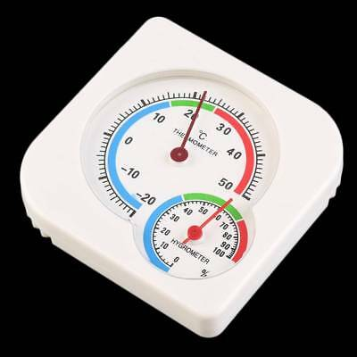 Mini Thermometer Nursery Baby House Room Wet Hygrometer Temperature Meter 1Pc