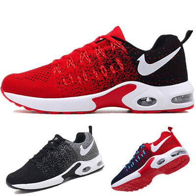 Flyknit Men's Air Bottom Casual Shoes Outdoor Sports Athletic Shoes Trainers