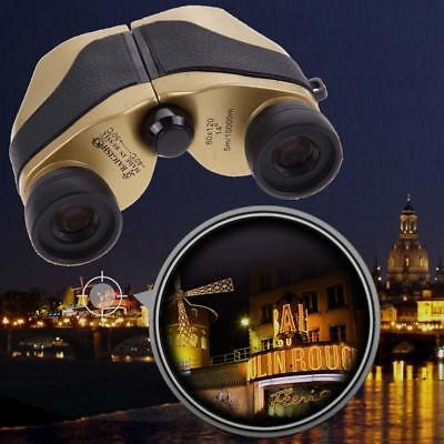 Outdoor 80x120 HD Auto Zoom Folding Day Night Vision LED Binoculars Telescope FT
