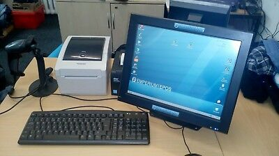 Toshiba EPOS system with barcode reader and printer
