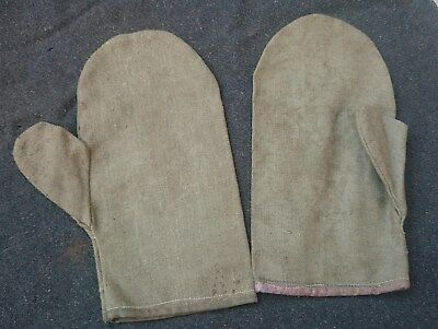1wk ww1 1gm canvas gloves soldier trench storm troops sturmtruppe KUK Germany