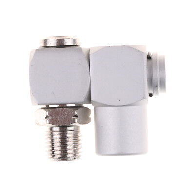 360Swivel Air Line Connector 1/4″BSP Pneumatic Fitting Screw Joint Adjustable Ew