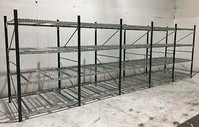 5 joined bays of Longspan Shelving, Industrial Warehouse Shelving