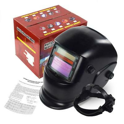 Solar Powered Auto-Darkening Tool Grinding Welder TIG Welding Helmet Face Mask