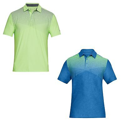 Under Armour UA Playoff Polo Mens Chest Print Shirt 2018-Multiple Sizes & Colors