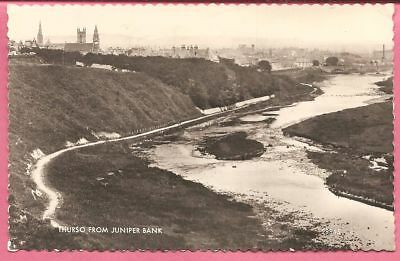 Thurso from Juniper Bank, Caithness, Scotland postcard. Real Photo. Valentine's.
