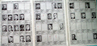 German Red Cross Munich - lists of missing concentration camp guards - ss ship