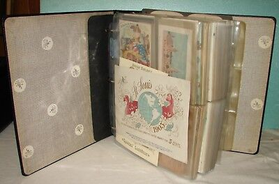 Huge Collection of 255 Postcards + other items - 1904 St. Louis World's Fair.