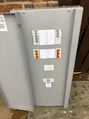 Eaton Memshield 3 EMB62h 250amp Distribution Board With Mcbs