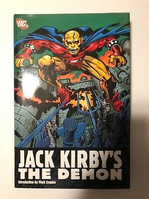 Jack Kirby's The Demon DC HC Hardcover