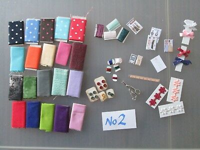 Dolls house miniatures job lot assorted home made items 1/12th scale