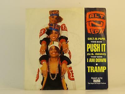 "SALT N PEPA,PUSH IT,EX/EX,2 Track, 7"" Single, Picture Sleeve,FFRR"