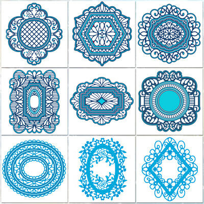 Frame Collection Metal Cutting Dies Scrapbooking Album Decoration Stamp Dies Cut