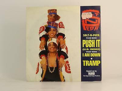 "SALT 'N' PEPA,PUSH IT (US REMIX),EX/EX,2 Track, 7"" Single, Picture Sleeve,FFRR R"
