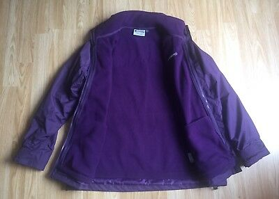 00a3aa53ed0 Mountain Warehouse Fell Womens 3 in 1 Water-Resistant Jacket Size 14 Purple  -NEW