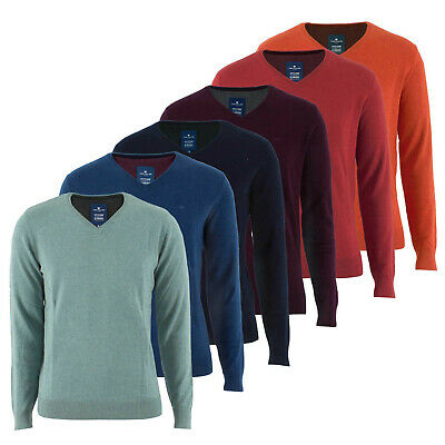 TOM TAILOR HERREN Pullover 3022881.09.10 Basic V Neck