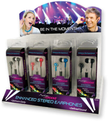 Master Groove Earbuds Case Pack 24
