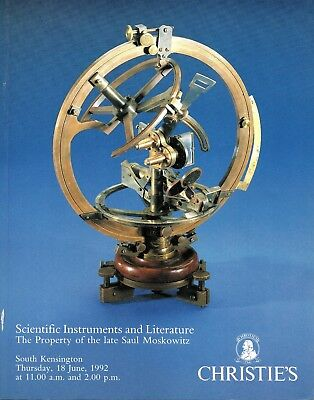 Christies Auction Catalogue Of Scientific And Literature