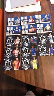 2015-16 TOPPS CL CHAMPIONS LEAGUE SHOWCASE pedigree and dignified cards