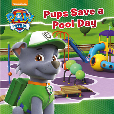 Pups Save Christmas Book.Paw Patrol Pups Save A Pool Day Picture Story Book Children S Christmas Gift