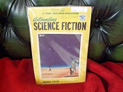 American Pulp Magazine Astounding Science Fiction Noise Level May 1953