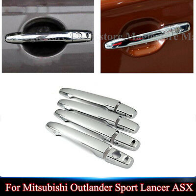 For Mitsubishi Outlander Sport Lancer ASX Keyless Door Handle Cover Decorate New
