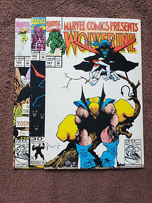 Marvel Comics Presents Wolverine, Ghost Rider 101, 102, 105 Sam Kieth