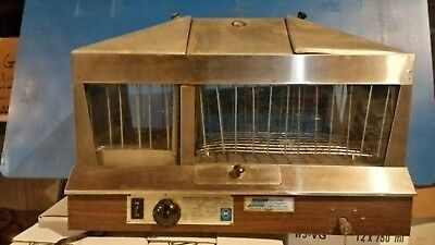 Star Commercial Hot Dog Steamer Bun Warmer Model 36 Steamro Sr.