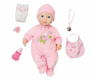Baby Annabell 43cm Doll With Realistic Functions