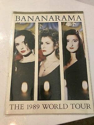 Bananarama Mega Rare 1989 Uk Tour Programme Multiple Signed Item Rare Venus