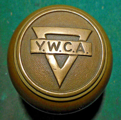 Ymca Antique Door Knob - Brass:  Circa 1930 Reading Hardware (11311-18)