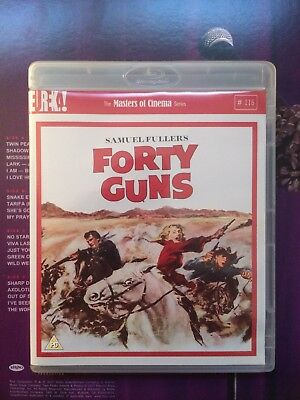 Forty Guns - Eureka Masters Of Cinema - Blu-ray DVD Dual Format - Samuel Fuller